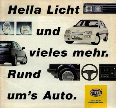 Hella Licht Broschüre 1989