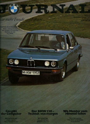 BMW Journal Heft 5 1972