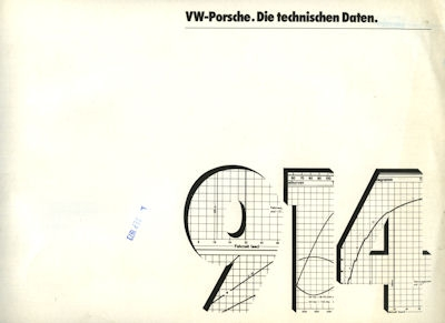 Porsche 914 Techn. Daten 1973