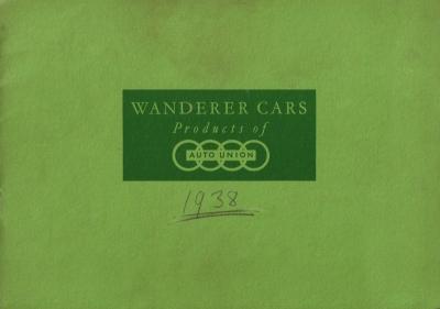 Wanderer W 24 Prospekt 1938 e