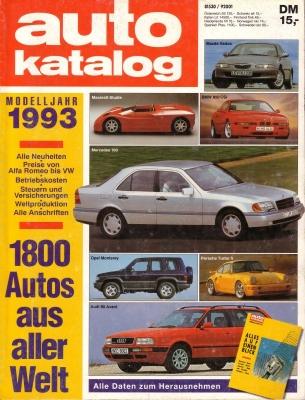 Auto Katalog 1990 Nr.33