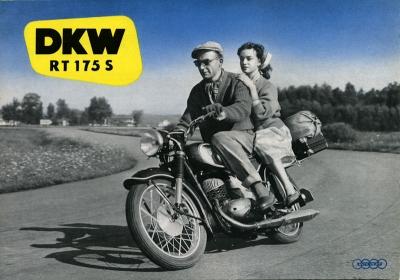 DKW RT 175 S Prospekt ca. 1956