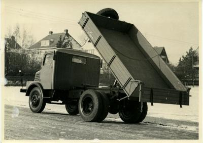 Foto Horch H3A Dreiseitenkipper 1956