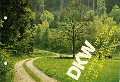DKW Mofa Programm ca. 1976