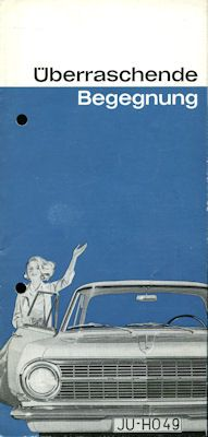 Opel Rekord A Prospekt 4.1963
