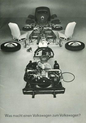 VW Käfer Prospekt 2.1963