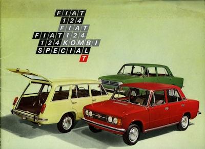 Fiat 124 / Kombi / Spezial / T Prospekt 6.1972