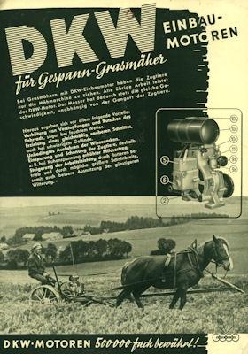 DKW Einbaumotor Prospekt 1.1938