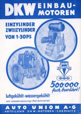 DKW Einbaumotor Prospekt 5.1936
