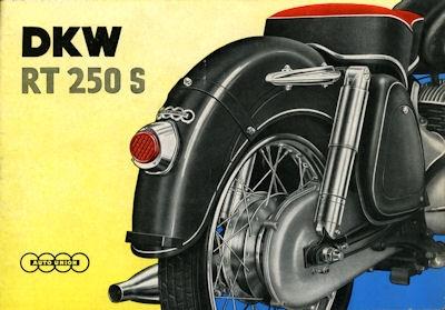 DKW Schnellaster Prospekt ca. 1956
