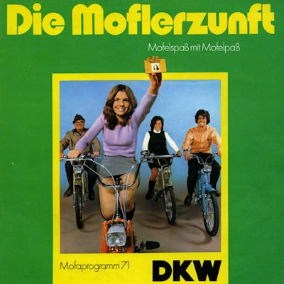 DKW Mofa Programm 1971
