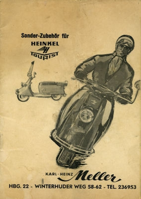 Heinkel Tourist Sonder-Zubehör Prospekt 1960er Jahre