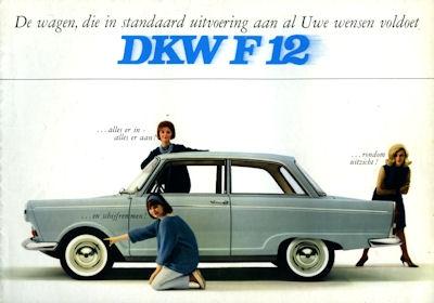 DKW F 12 Prospekt ca. 1965
