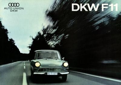 DKW F 11 Prospekt 1964