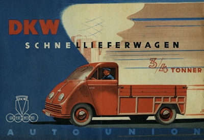 DKW Schnellieferwagen Prospekt 4.1949