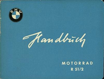 BMW R 51/2 Bedienungsanleitung 9.1955