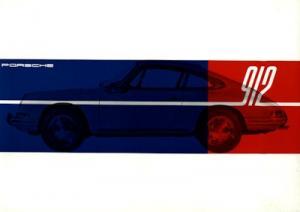 Porsche 912 Prospekt 1965 f