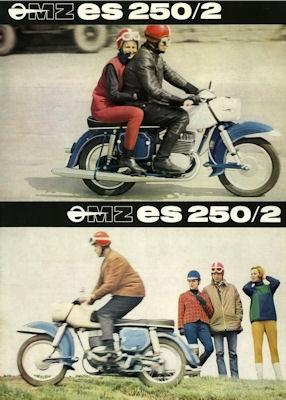 MZ ES 250/2 Prospekt 1967