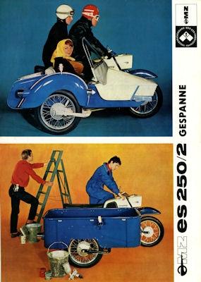 MZ ES 250/2 Gespanne Prospekt 1968