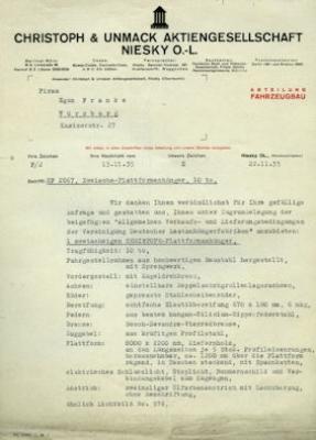 Christoph & Unmack Anhänger Prospekt 1936 2