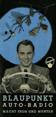 Autoradio Blaupunkt Programm 1955