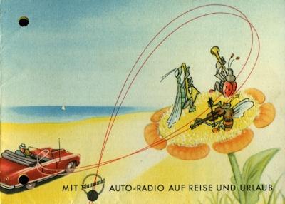 Autoradio Blaupunkt Autosuper Prospekt 1950