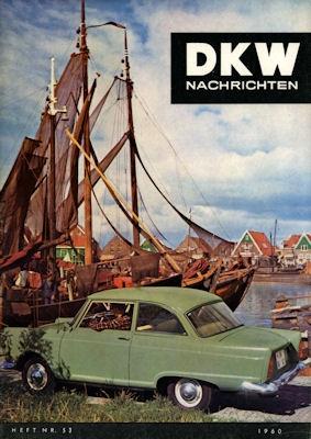 DKW Nachrichten Nr. 53 1960