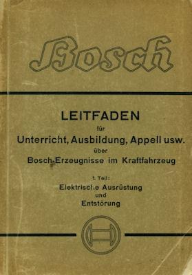 Bosch Technischer Leitfaden 11.1939