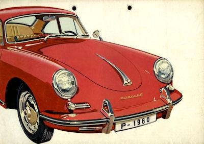Porsche 356 B Prospekt 9.1959