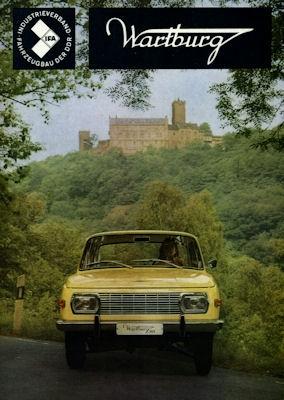 Wartburg 353 Prospekt 1970