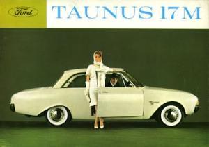 Ford Taunus 17 M P 3 Prospekt ca. 1963