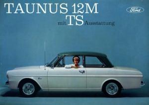 Ford Taunus 12 M P 4 Prospekt ca. 1963