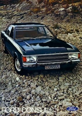 Ford Consul Prospekt ca. 1972