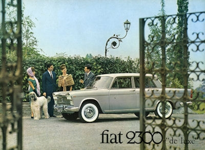 Fiat 2300 de Luxe Prospekt ca. 1962