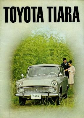 Toyota Tiara Prospekt 1960er Jahre