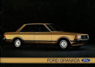 Ford Granada Prospekt 9.1977