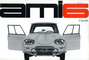 Citroen Ami 6 Prospekt 9.1963