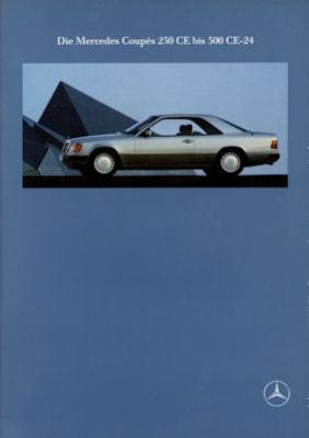 Mercedes-Benz 230 CE 300 CE-24 Prospekt 1991