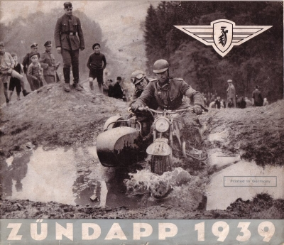 Zündapp Programm 1939