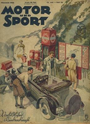 Motor & Sport 1930 Heft 28