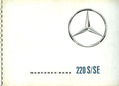 Mercedes-Benz 220 S/SE Prospekt 7.1959 es