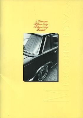 Mercedes-Benz 600 Broschüre ca. 2000