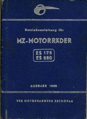MZ ES 175 und 250 Bedienungsanleitung 1962