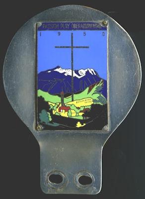 Plakette Passion Play Oberammergau 1950