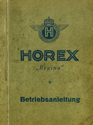 Horex Regina 350 Bedienungsanleitung 1950