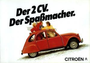 Citroen 2 CV Prospekt 1.1984