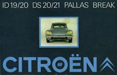 Citroen ID DS Pallas Break Prospekt 1969