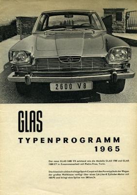 Glas Programm 1965