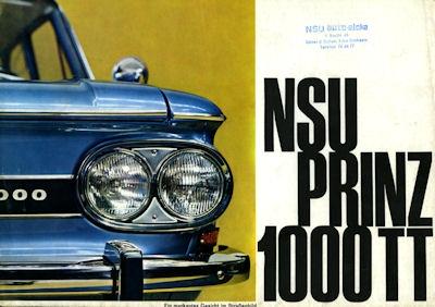 NSU Prinz 1000 TT Prospekt ca.1967