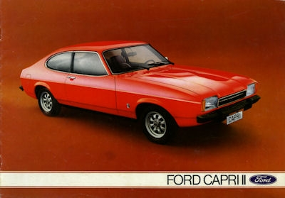 Ford Capri II Prospekt 8.1975